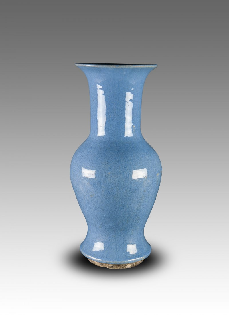 Late Qing -A Crackle Glaze Vase