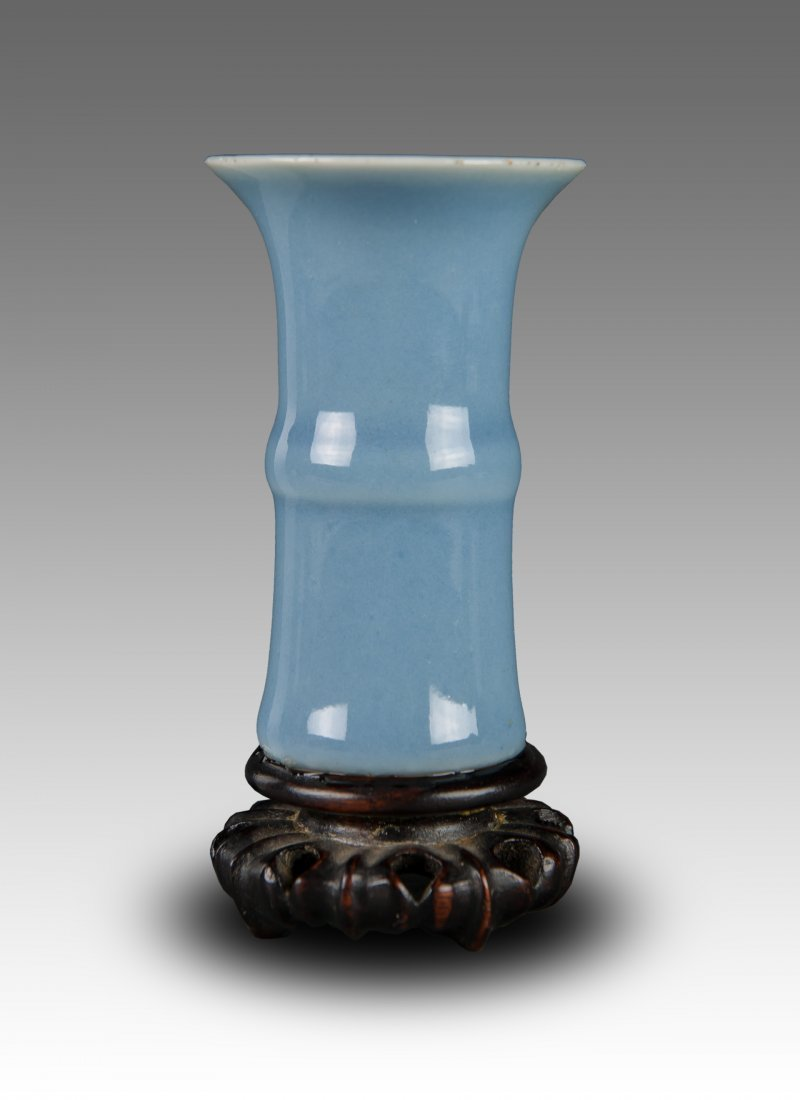 19th Century-A Ru-Type Beaker Vase