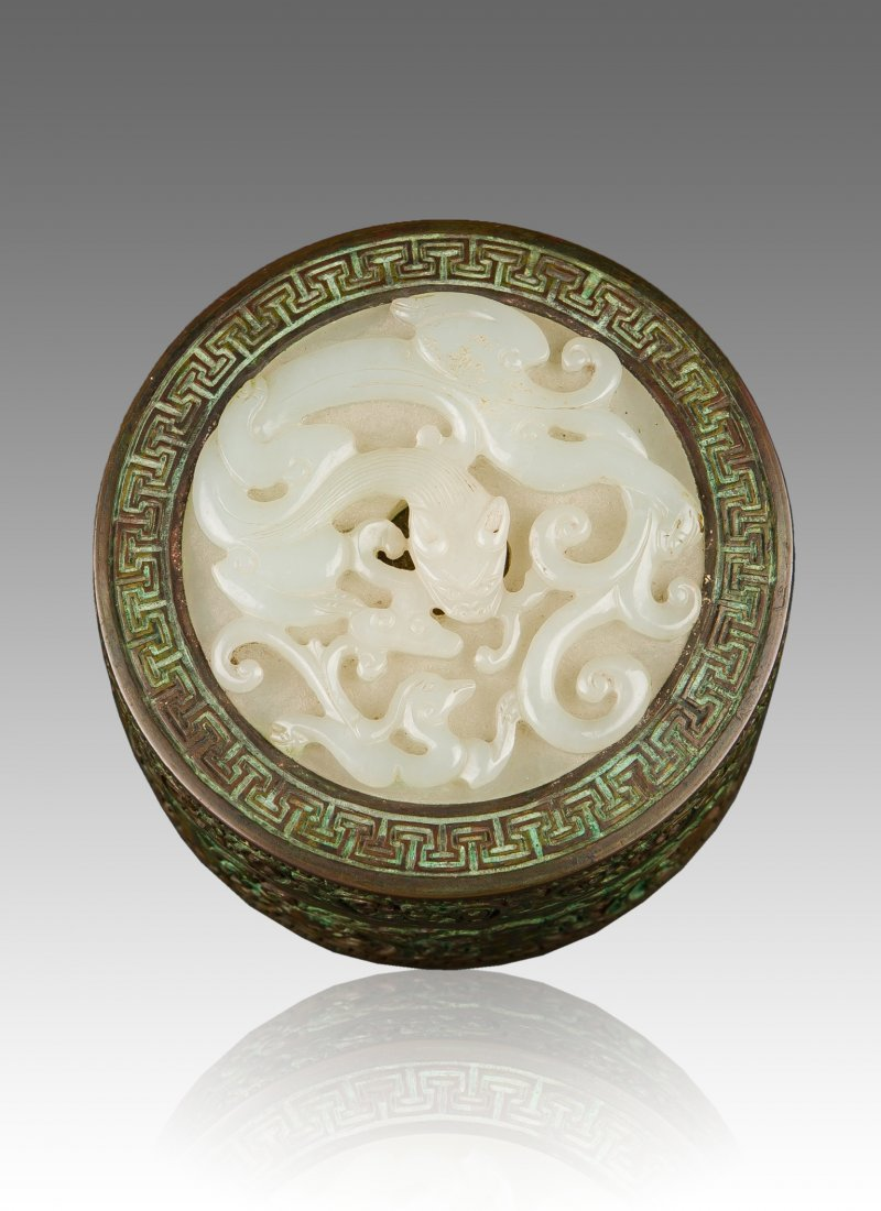 Qing-Daoguang And Of Period -A Beautiful White Jade
