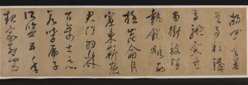 Attribute to DONG QICHANG 15551636 Calligraphy