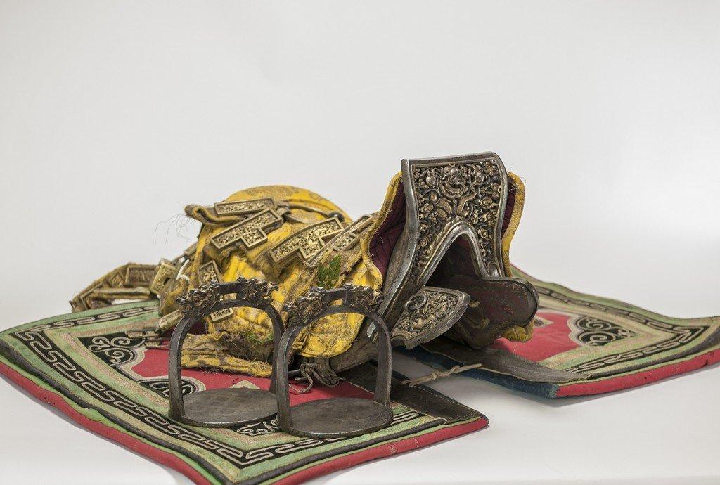 17 th Century - Antique Saddle - This Extraordinary
