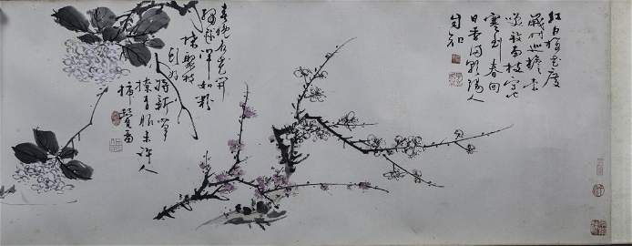 WANG XUETAO (1903-1982) Chinese Painting - Ink And