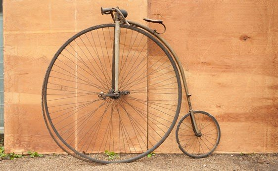 6266: Velocipede Antique Bicycle