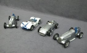 Four (4) 1/18 Scale GmbH Model Cars