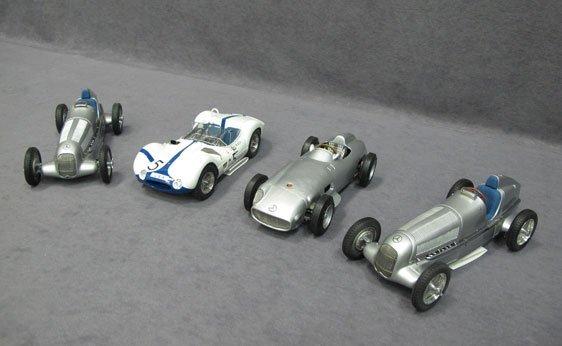 346N: Four (4) 1/18 Scale GmbH Model Cars