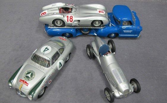 348N: Four (4) 1/18 Scale CMC GmbH Model Cars