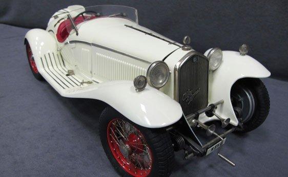 355N: 1/8 Scale Pocher 1932 Alfa Romeo Spider Touring G