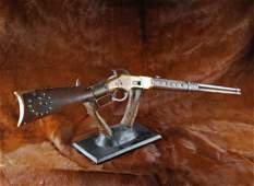 296: Winchester Model #1866 (Yellow Boy) Carbine