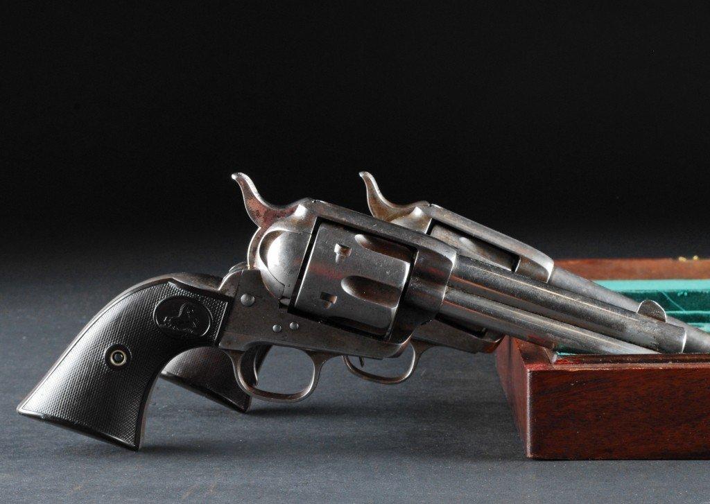 297: Pair .41 Caliber Colt SAAs, Sequential Serial # - 10
