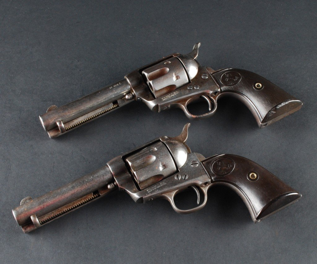 297: Pair .41 Caliber Colt SAAs, Sequential Serial # - 5