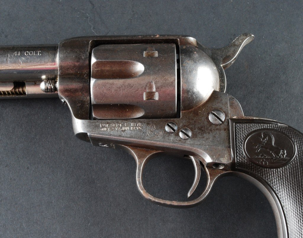 297: Pair .41 Caliber Colt SAAs, Sequential Serial # - 9