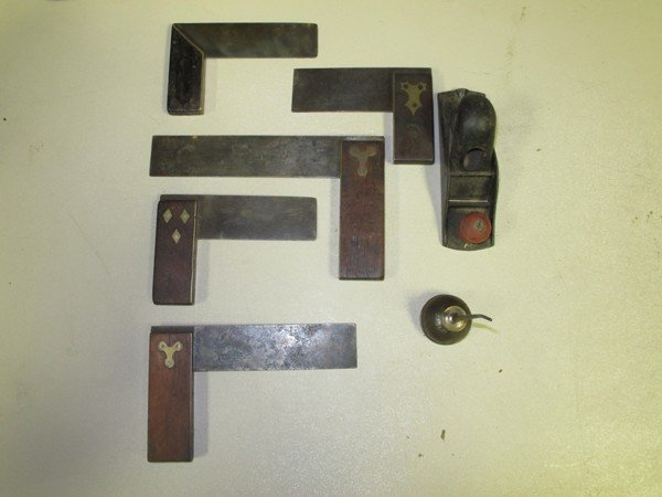 56: Lot: Eagle Oiler, Sm. Hand Plane, Stanley Brass Fac