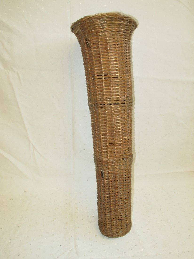 107: Wicker Umbrella Basket for Horse Drawn Carriage; 2