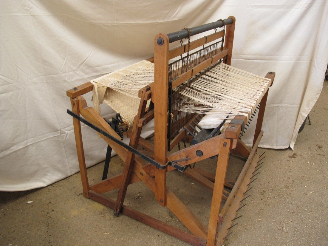137: Orig. Union Loom Works, Floor Loom, Union Loom, No
