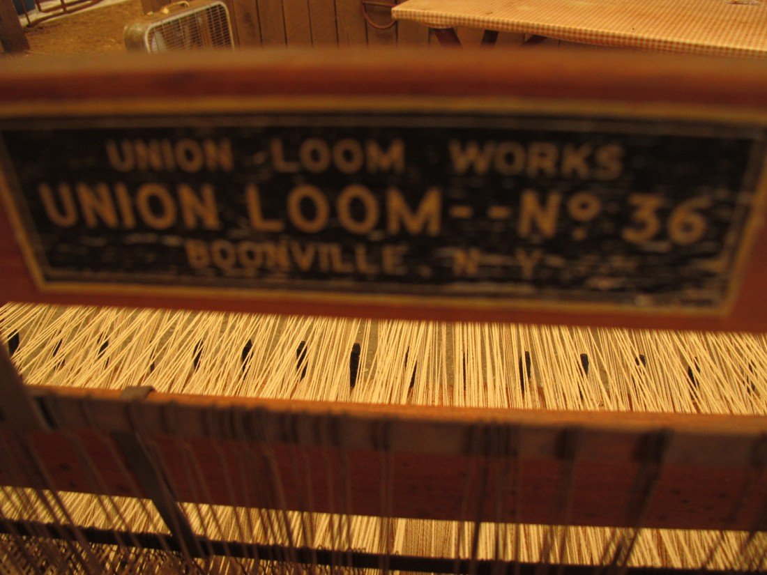 137: Orig. Union Loom Works, Floor Loom, Union Loom, No - 2