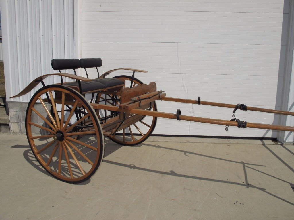 145: Meadowbrook Style Horse Cart