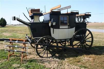 155: Original Mills & Sons 3/4 Size Pony Coach