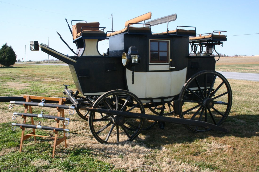 155: Original Mills & Sons 3/4 Size Pony Coach