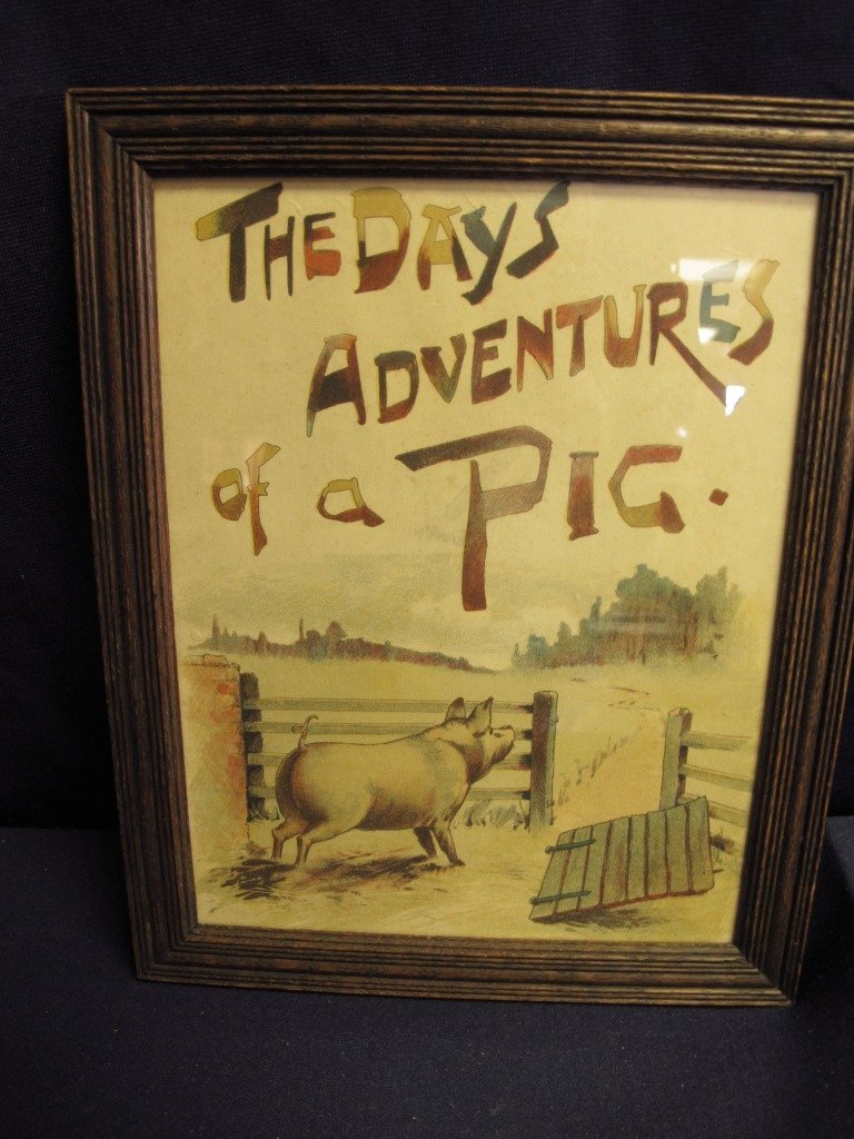 "168: Set Ten Prints - ""The Days Adventures of a Pig"""