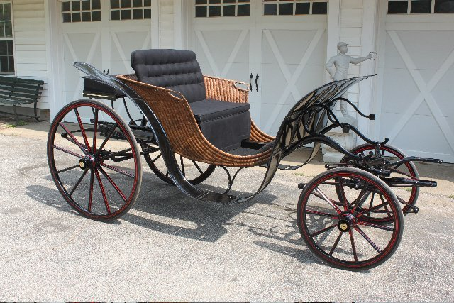 170: Pony Size George IV Phaeton, made by Stivers, NY
