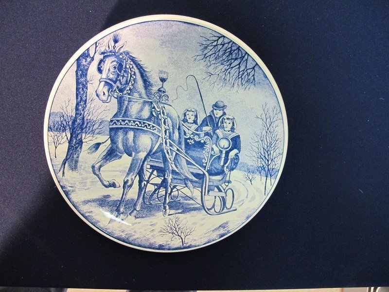 "191: ""Delft Plate"" made in Holland"