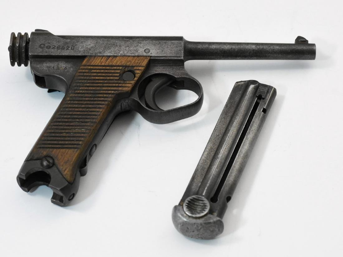 Japanese Nambu Model 14 Pistol