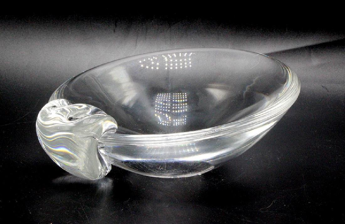 Stubben Crystal Art Glass Candy Dish