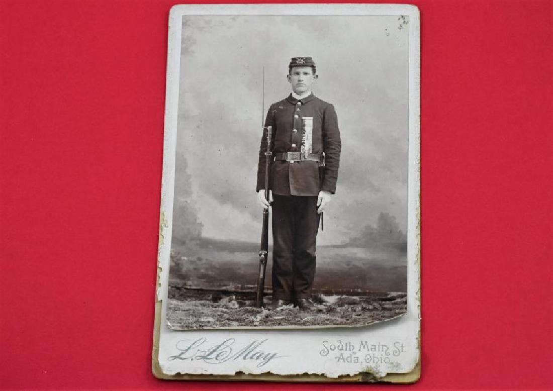 Soldier From Indian War 1893 Original photograph
