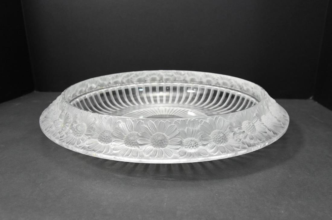 Lalique Signed Crystal Bowl