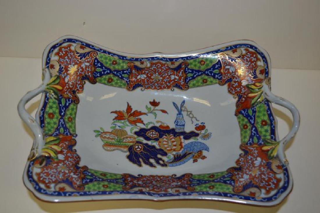 Spode english serving dish 1800s