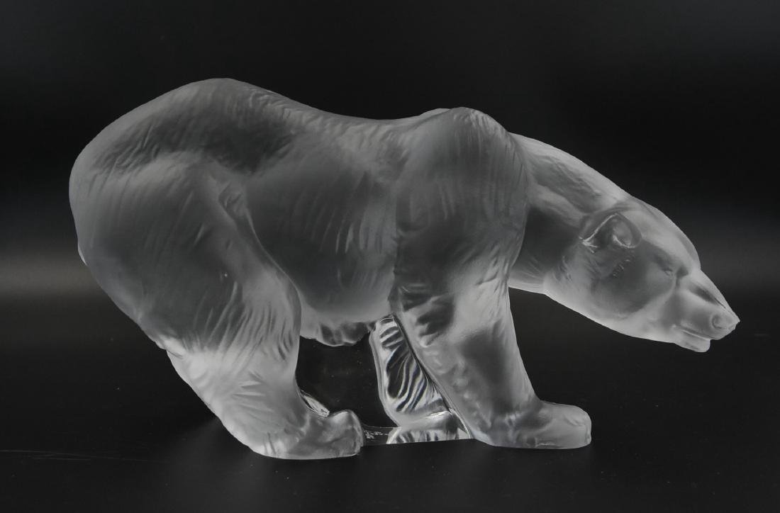 Lladro retired Frosted Crystal Bear