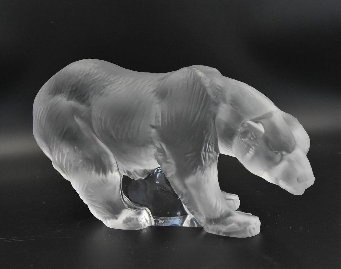 Lladro retired Frosted Crystal Bear - 2