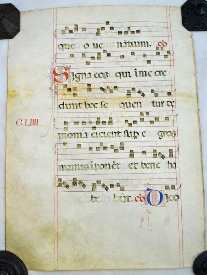 Roman Music 2 sided scroll