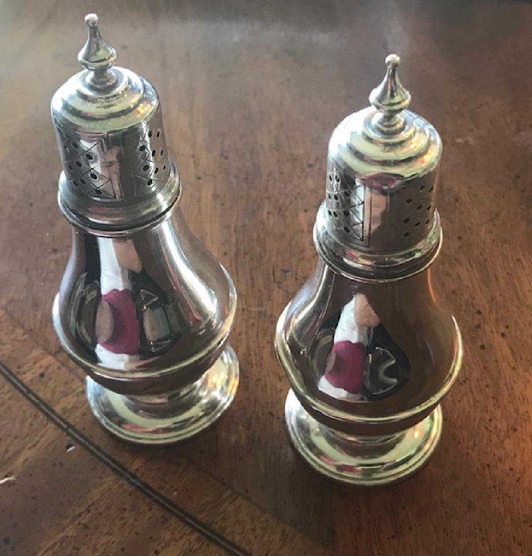 Sterling Silver Salt & Pepper Shakers Frank M Whiting