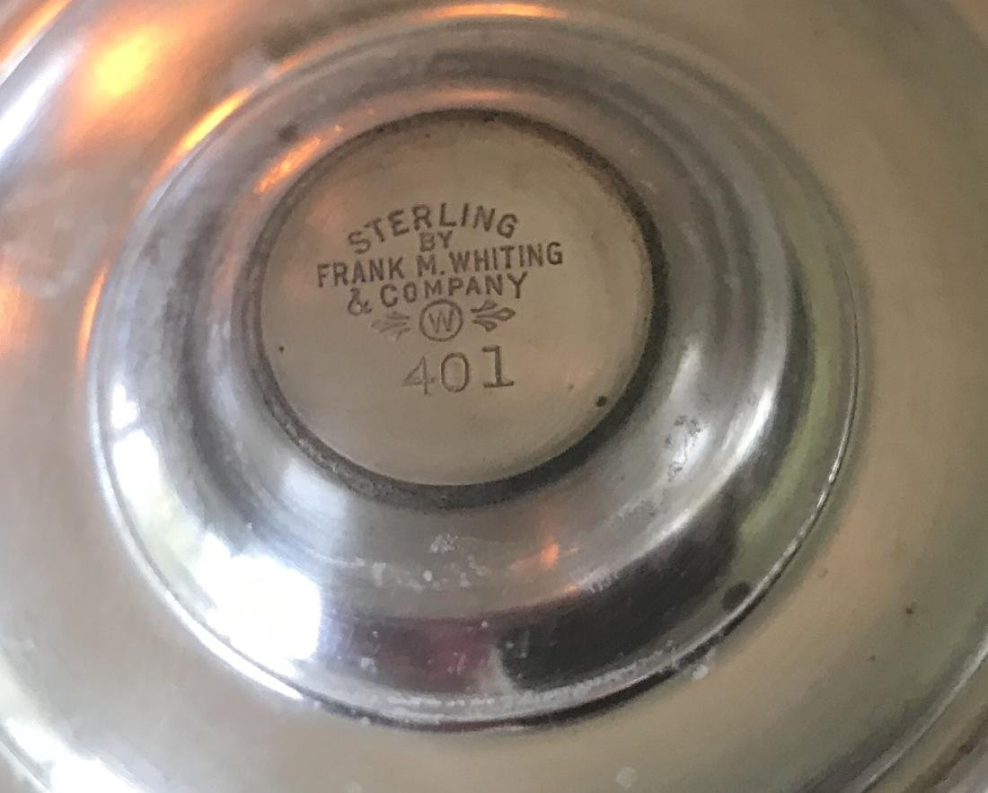 Sterling Silver Salt & Pepper Shakers Frank M Whiting - 2