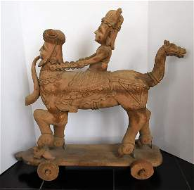 Mythical Persian Processional Idol