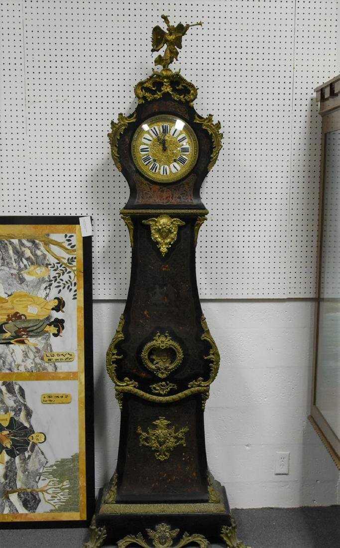Clock by French Grandfather Clock