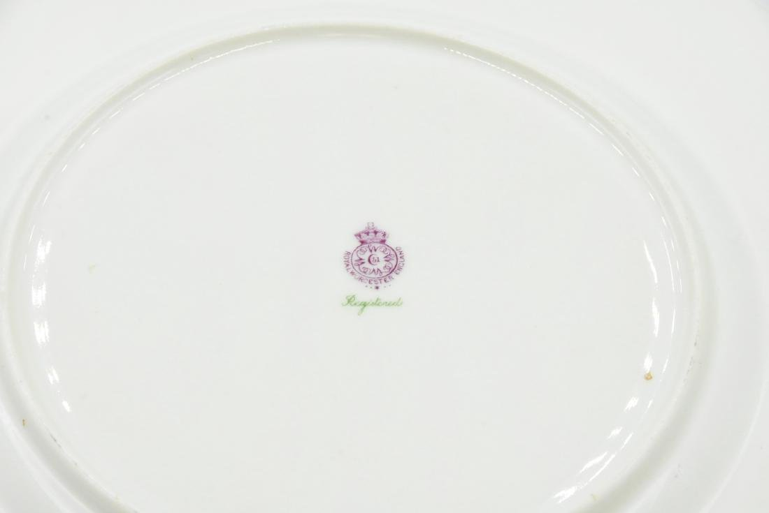 (2) Royal Worcester Plates - 2
