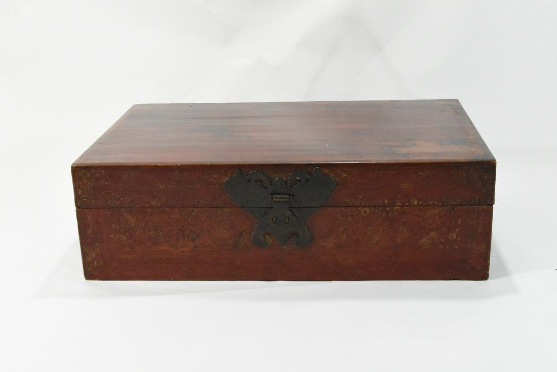 Japanese Leather Chest
