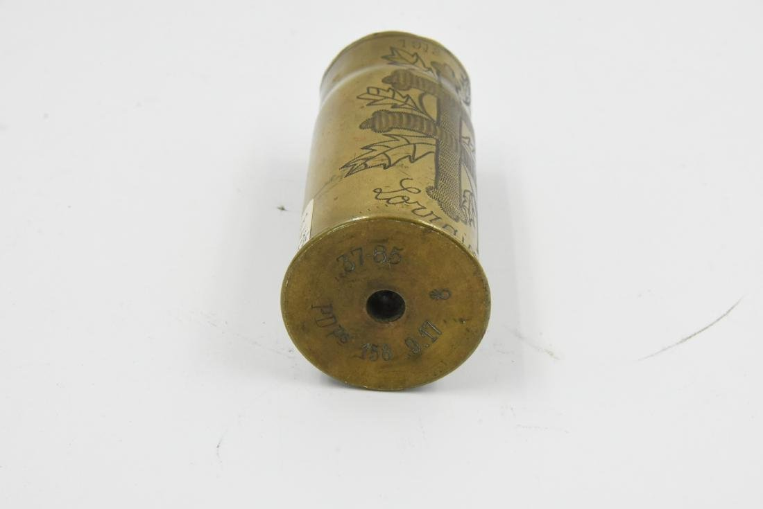 WW1 Trench Art Lorraine France - 2