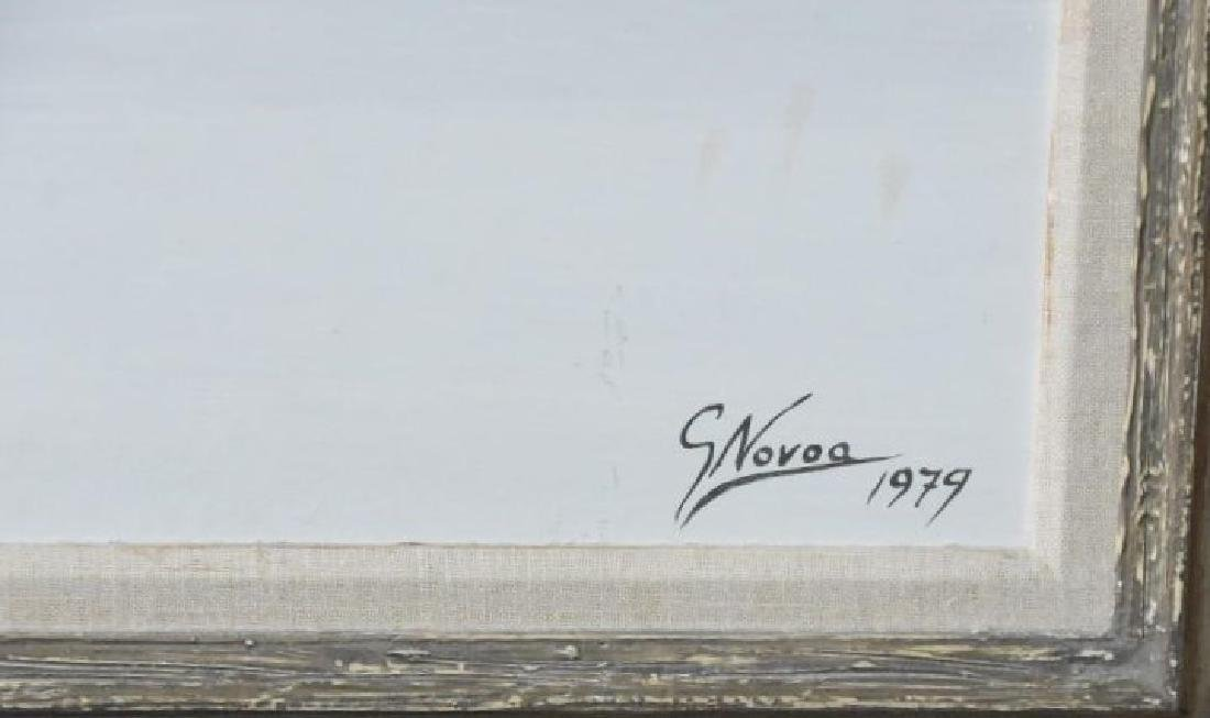 Gustavo Novoa Original Acrylic on Board - 3