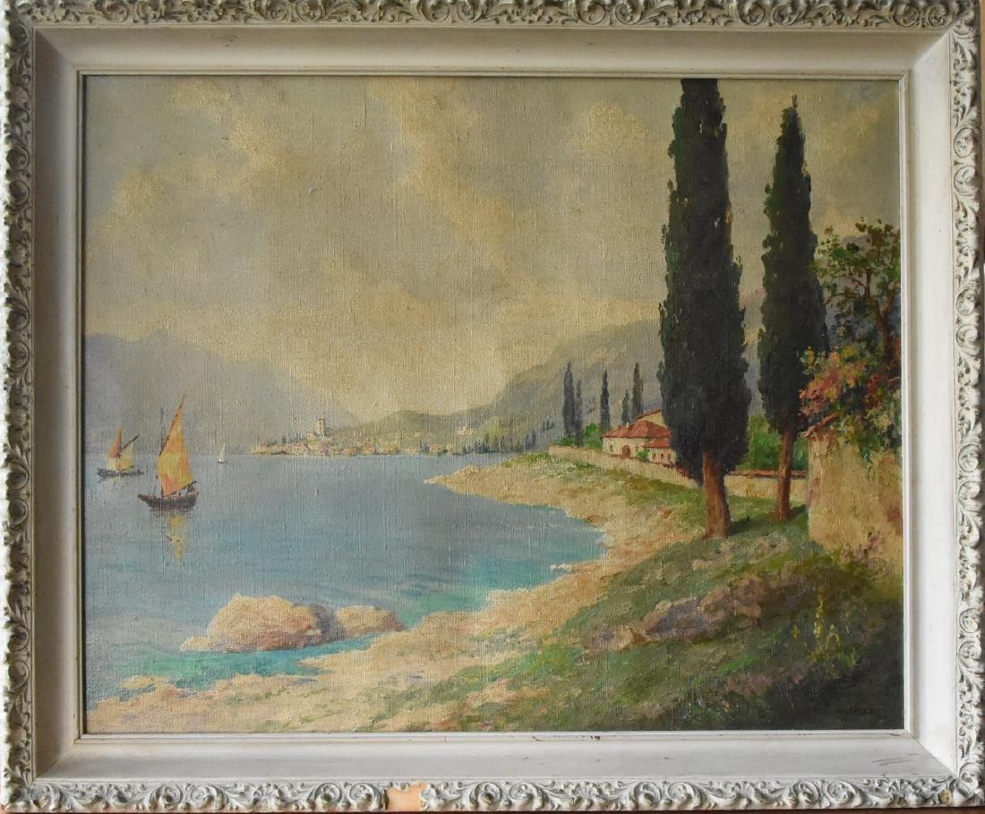 Karl Hofer Signed Original Oil on Canvas