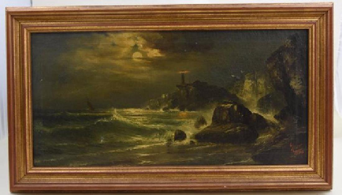 Original Signed E. Klatt 1925 Oil on Canvas