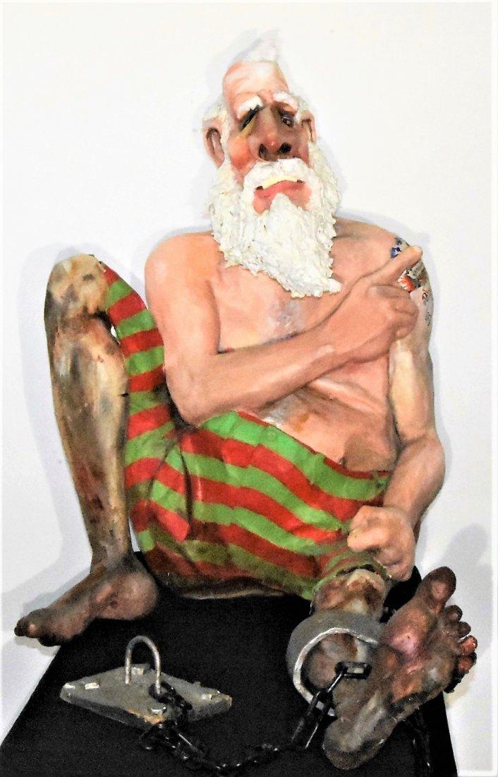 Will Kurtz Original Mixed Medium Sculpture