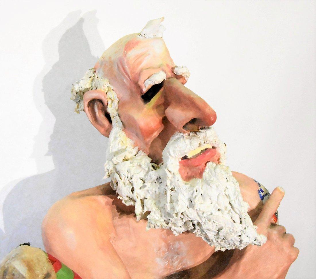 Will Kurtz Original Mixed Medium Sculpture - 2