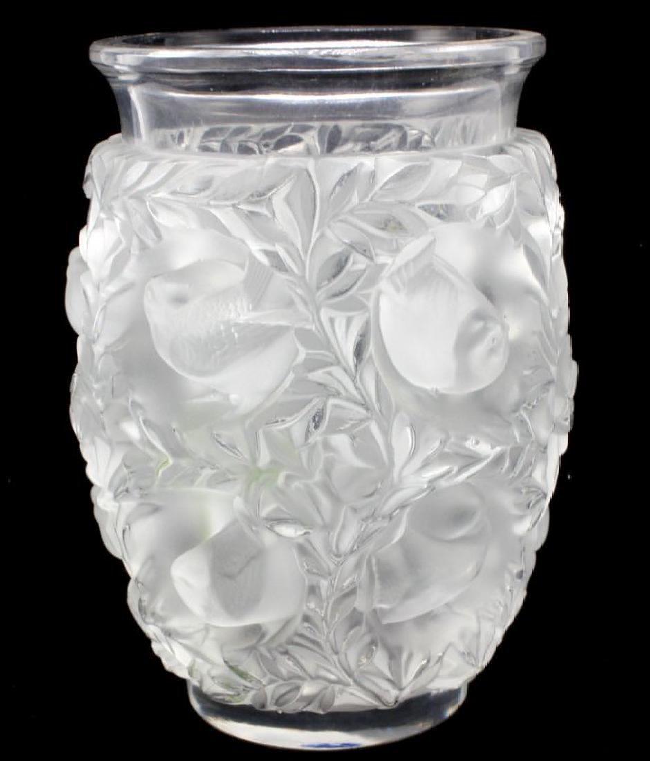 Lalique bagatelle crystal vase