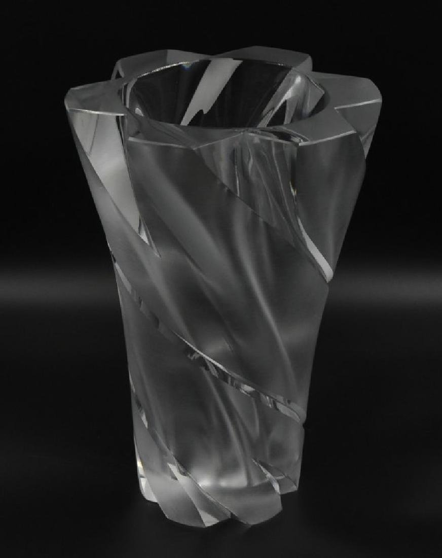 "Lalique France Signed ""Narcisse"" Vase Crystal"