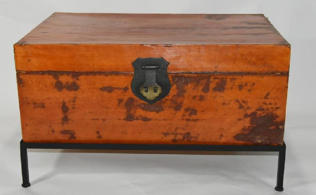 Japanese Trunk Leather 1800s
