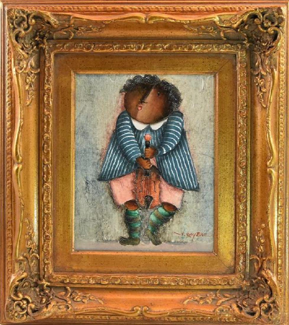"Joyce Roybal ""Violinist"" Original Painting"