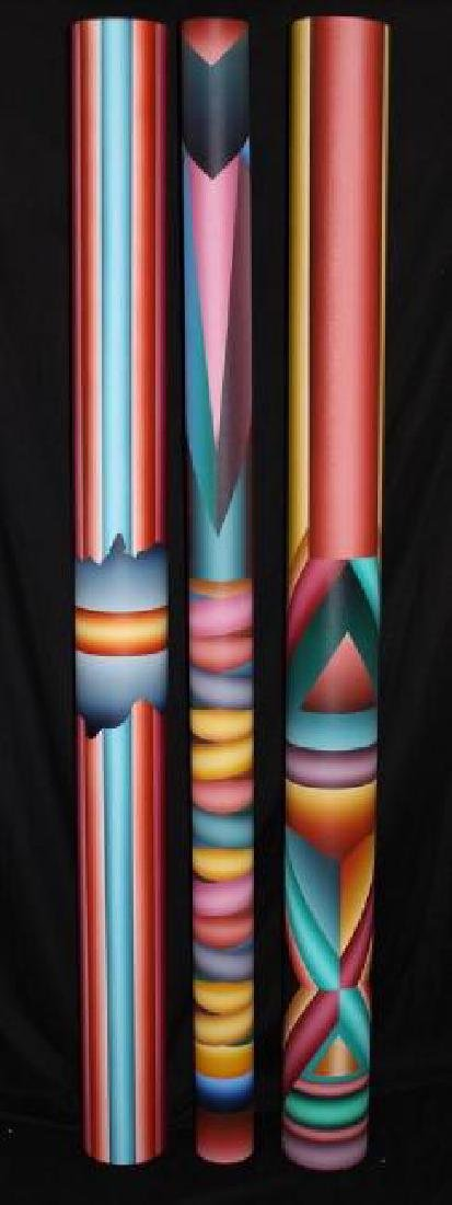 "George Snyder ""Tubes Painted By A Celebrated Artist"
